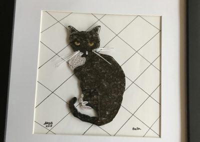 Bella (framed & matted)