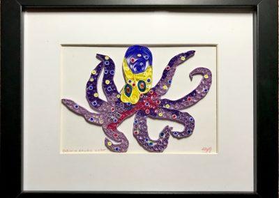 Octavia octopus exudes color